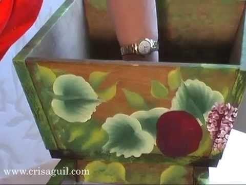 Tutoriales de diferentes t cnicas de artes decorativas - Tecnicas decorativas ...