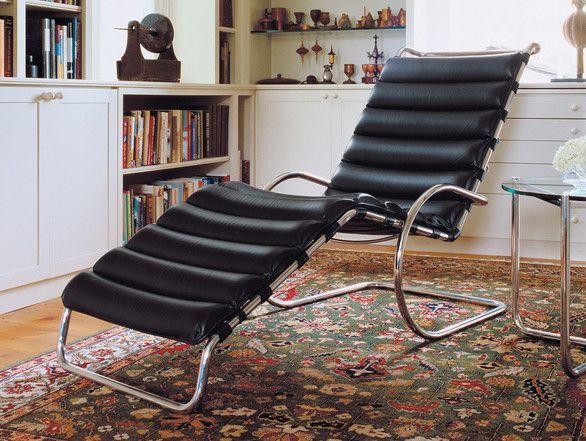 Knoll Mr Adjustable Chaise Longue Ludwig Mies Van Der Rohe Furniture Design Furniture Design Inspiration Furniture