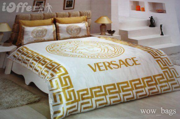 Schlafzimmer Versace ~ Versace bed master bedroom pinterest