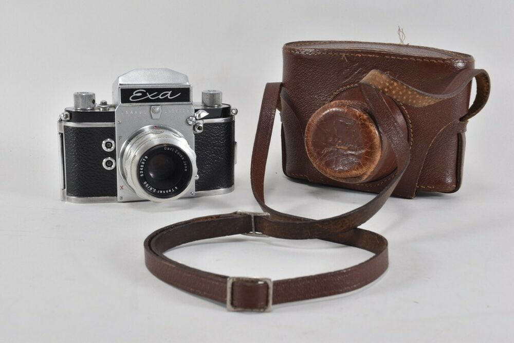 Ebay Sponsored I40k44 Alte Fotokamera Exa Mit Carl Zeiss