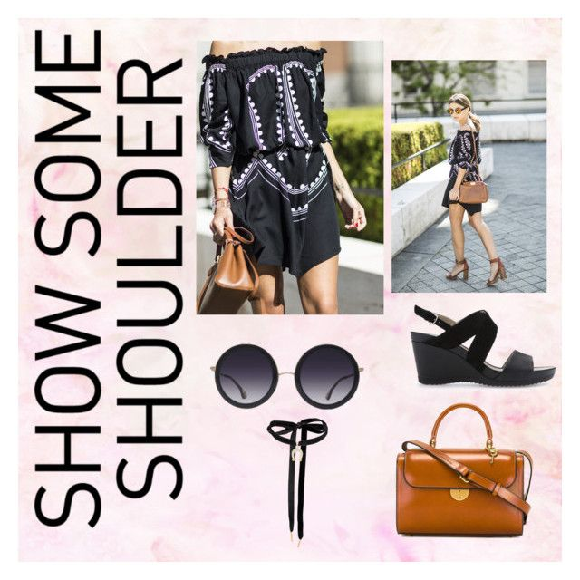 """""""Show Some Shoulder."""" by lucymightyangel ❤ liked on Polyvore featuring Geox, Alice + Olivia, Maison Margiela and showsomeshoulder"""