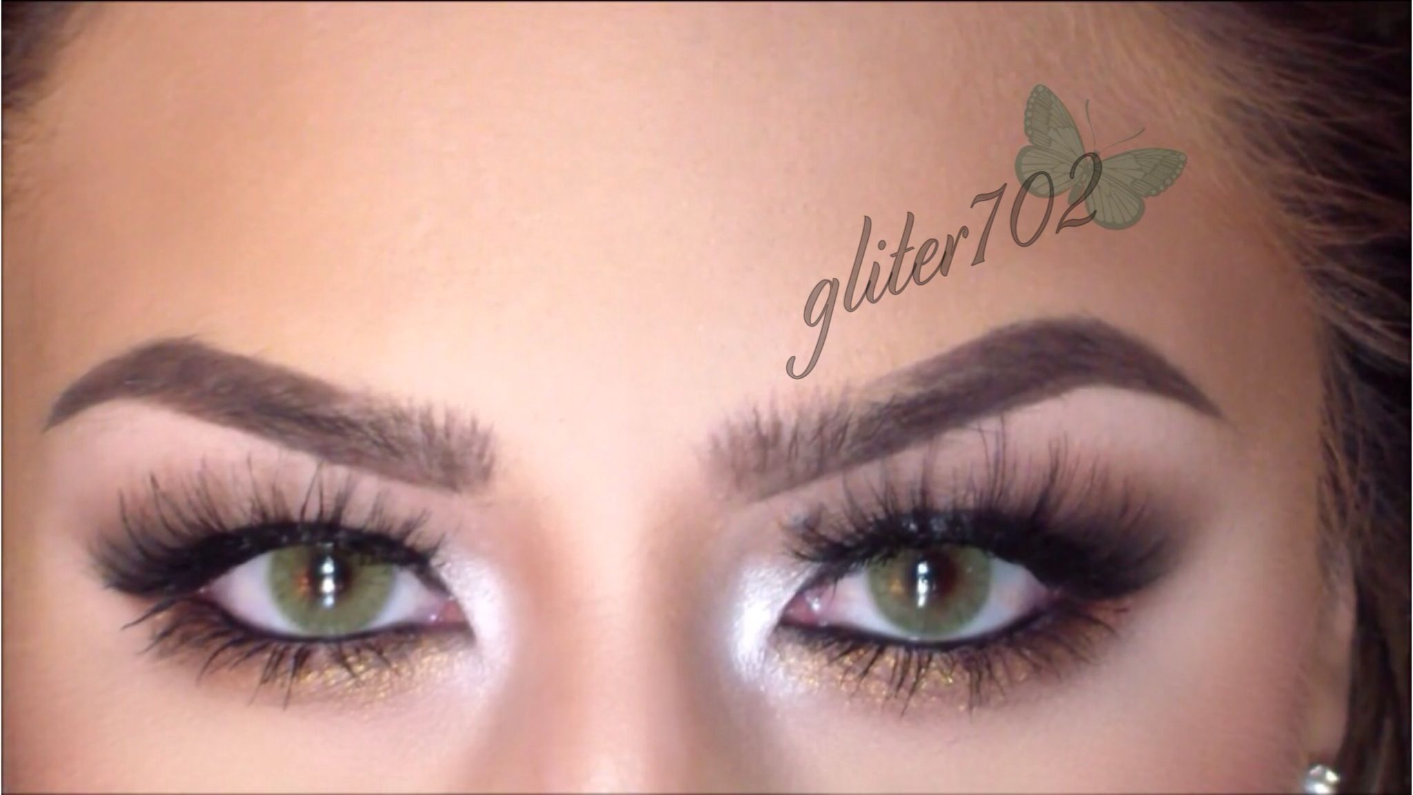 Tutorial for green eyes. Solotica lenses in Hidrocor Mel