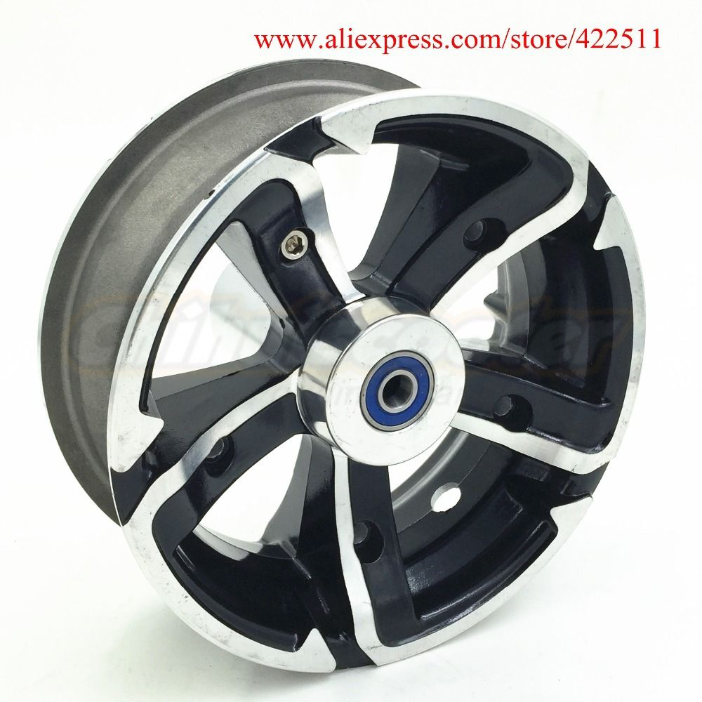 New Aluminium 12 Inch Front Wheel Rim High Quality Scooter Aluminium Front Wheel Hub For 12 Inch Tire Scoote Scooter Wheels Wheels And Tires Mobility Scooter