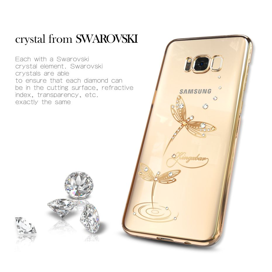 separation shoes a583a a5515 Phone Cases For Samsung Galaxy S8 S8 Plus Edge Luxury Electroplated ...