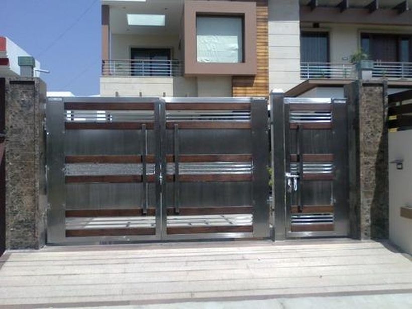 Amazing Modern Home Gates Ideas 41 Homesecurityfence House Gate Design House Main Gates Design New Gate Design