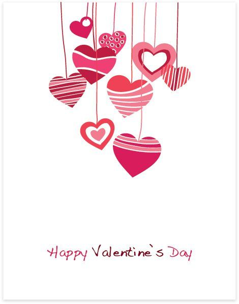Free Valentine Images Happy Valentines Day Vector Graphic Hearts