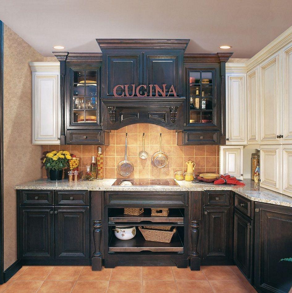 Black Distressed Kitchen Cabinets | RV Remodel | Pinterest | Koch ...