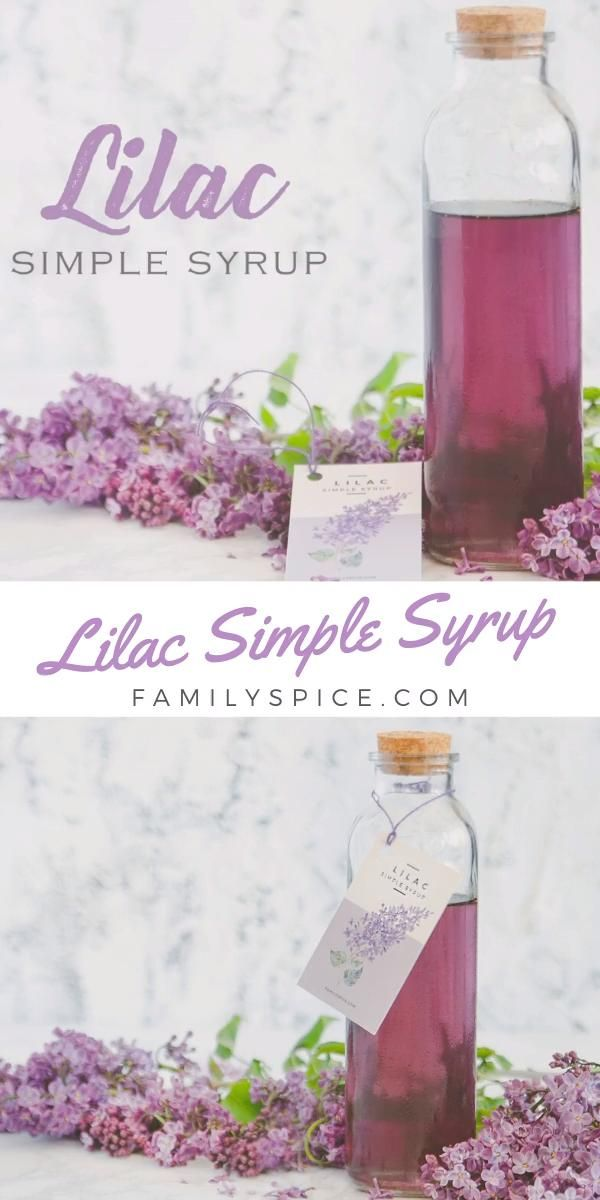Lilac Simple Syrup Video In 2020 Simple Syrup Simple Syrup Recipes Simple Syrup Cocktails