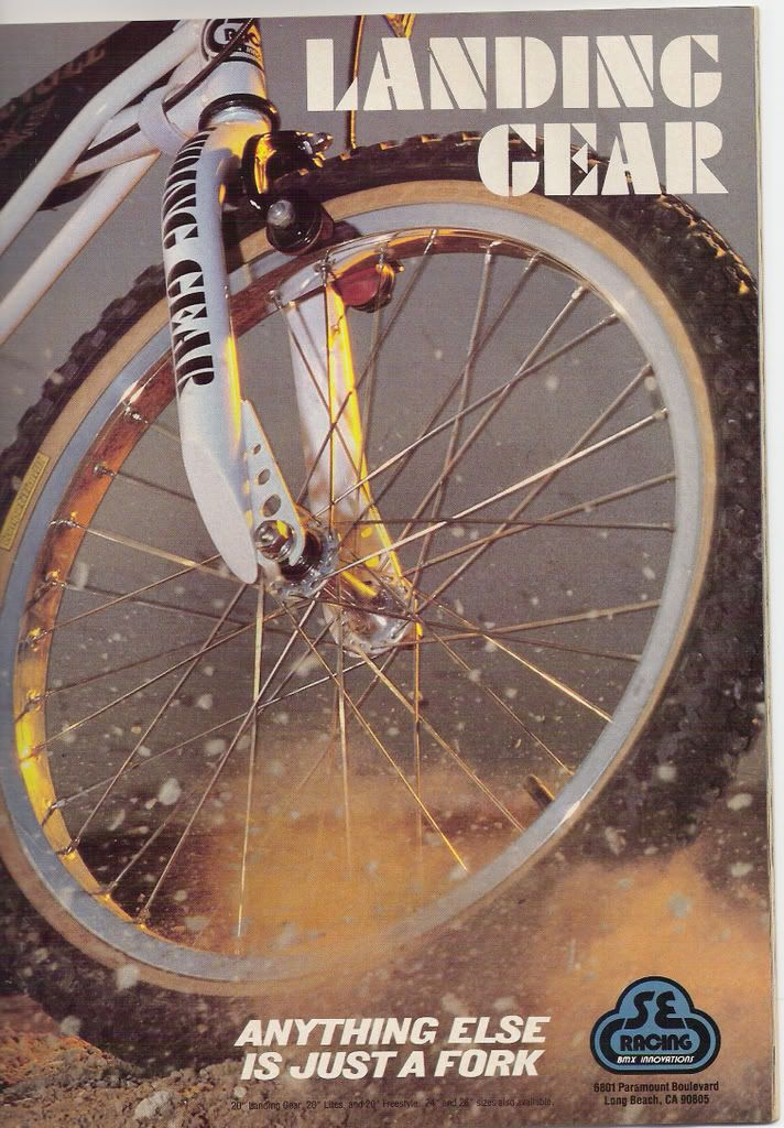 Se Racing Landing Gear Fork Bmx Cyklar