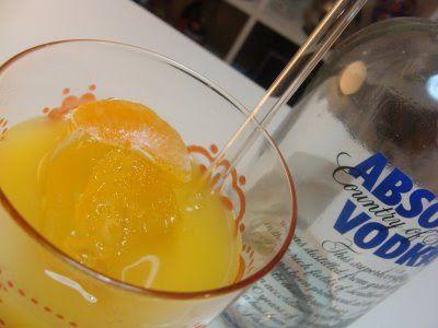 Vodka Naranja Con Imagenes Jugo De Naranja