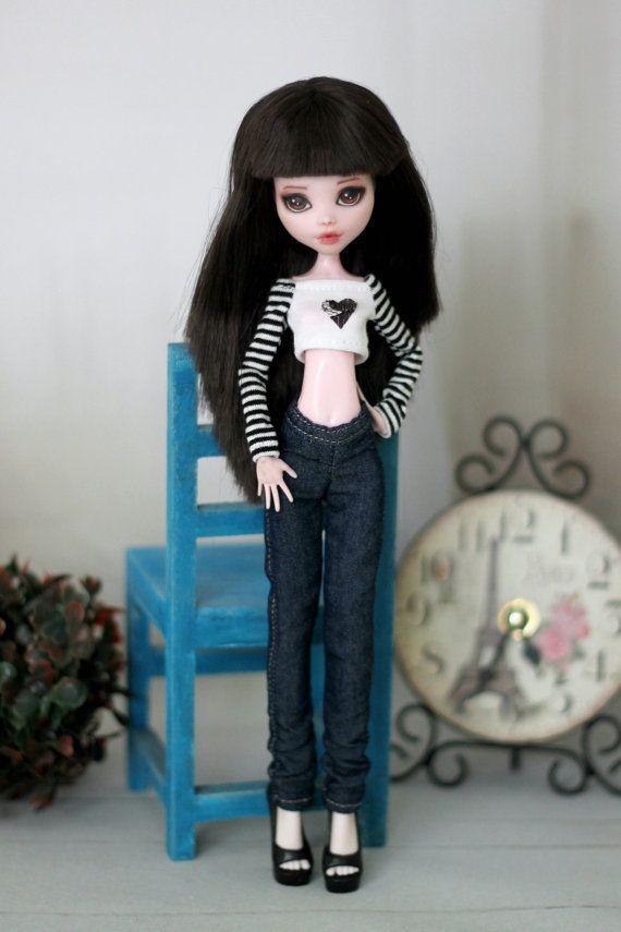 Slim jeans for Monster High / EverAfterHigh / от ElenaShowRoom