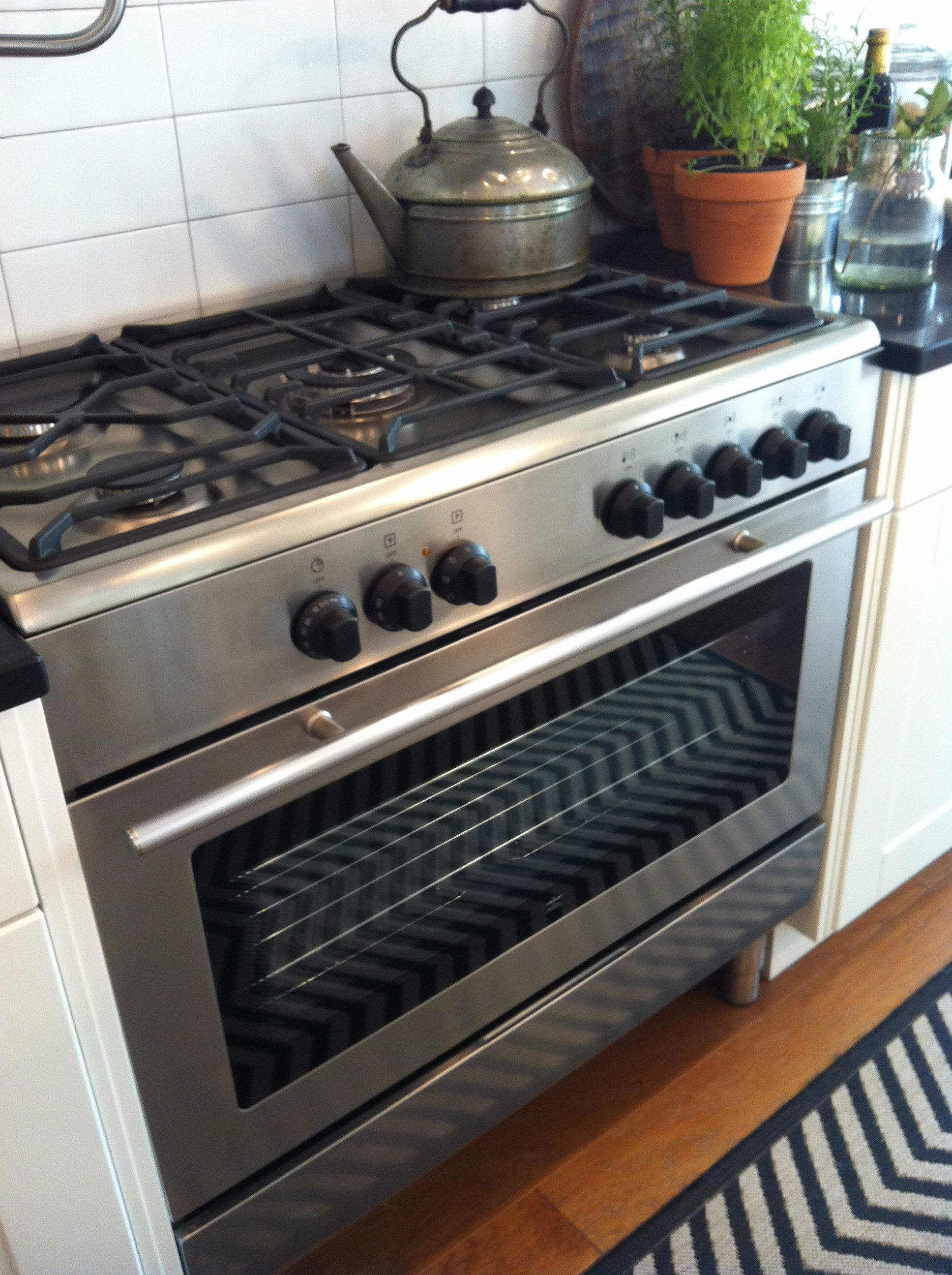 Aug 11...(prompt...3 gifts metal) *my cooking stove...I love to ...