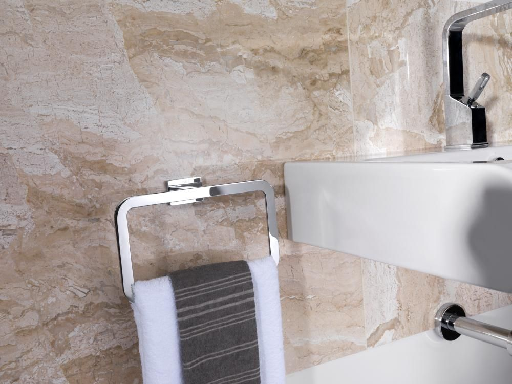 Lavabo Acro Compact.Toallero Quatro Gpribeiro Com Accesorios Noken Toallero