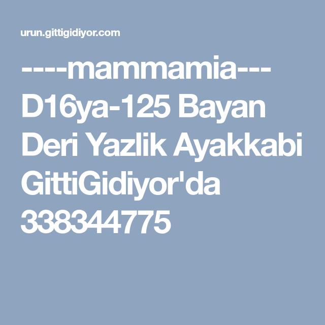 Mammamia D16ya 125 Bayan Deri Yazlik Ayakkabi Gittigidiyor Da 338344775 Goruntuler Ile Deri Ayakkabilar Saglik