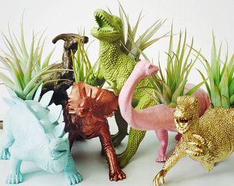 small pastel pink brontosaurus dinosaurtwotreesbotanicals