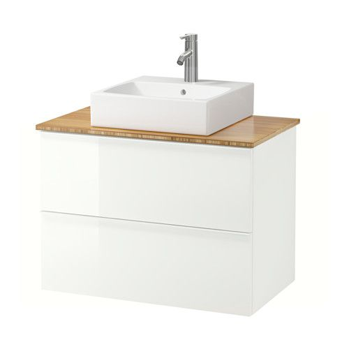 Ikea godmorgon aldern t rnviken meuble lavabo av lav - Ikea conception salle de bain ...