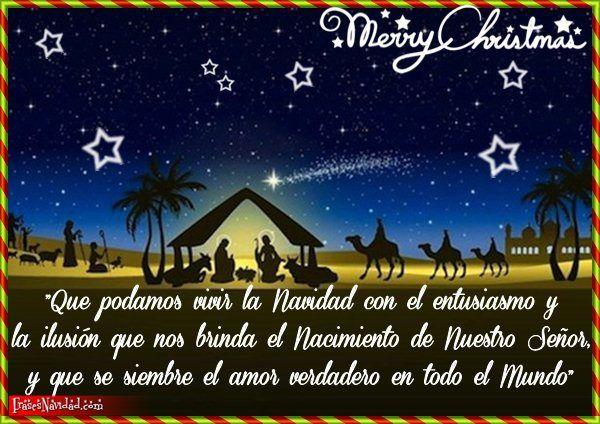El 25 De Diciembre Celebramos La Navidad Feliz Navidad Mensajes Feliz Navidad Reflexiones De Navidad