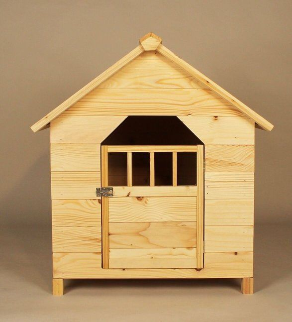 Pet House Outdoor Garden Dog Cat Solid Wooden Home Furniture Nest Chalet Kennels