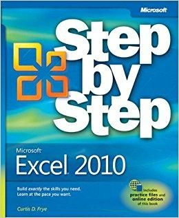 Microsoft Excel 2010 Step By Step Step By Step Microsoft Pap Psc Microsoft Word 2010 Microsoft Visio Microsoft Project