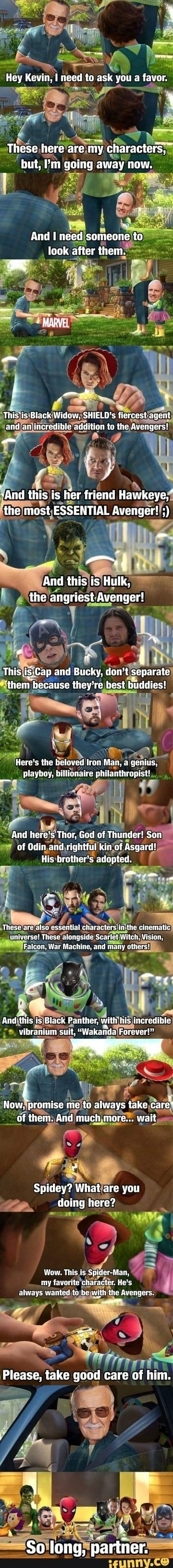 I'm not crying are you crying? Why are you crying? I'm not crying... #marveluniverse
