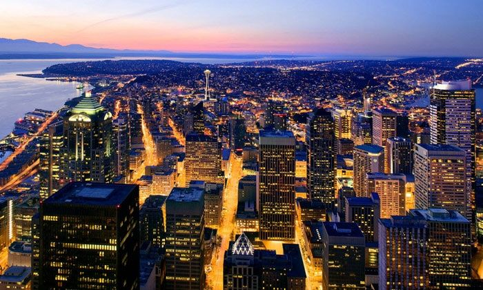 Sky View Observatory in 2019 | Marcus | Sky view, Seattle