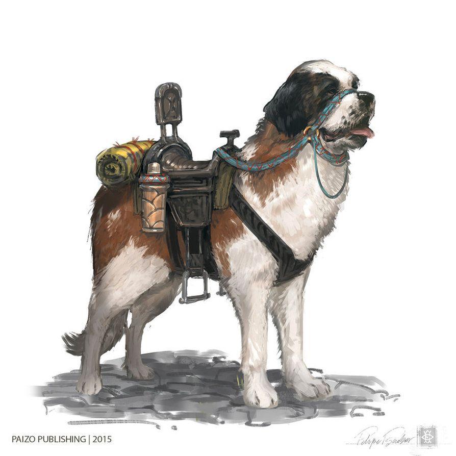 RPG dog animal companion | bestiary | Fantasy characters, Fantasy