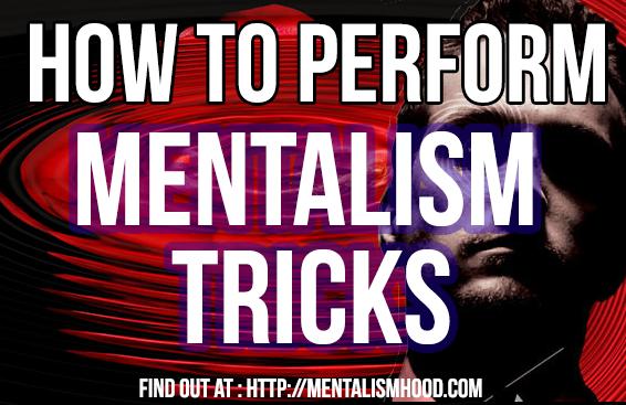 8 Easy Steps On How To Perform Mentalism Tricks Like Derren Brown Mind Reading Tricks Magic Tricks Derren Brown