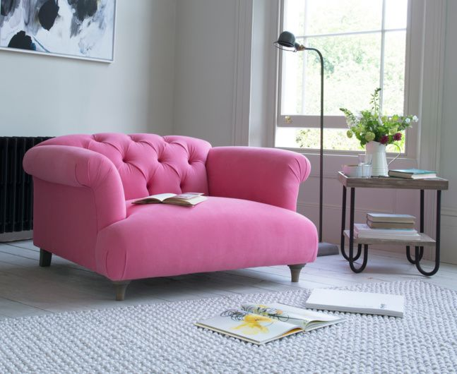 Dixie Love Seat | Chesterfield style sofa, Swatch online and ...