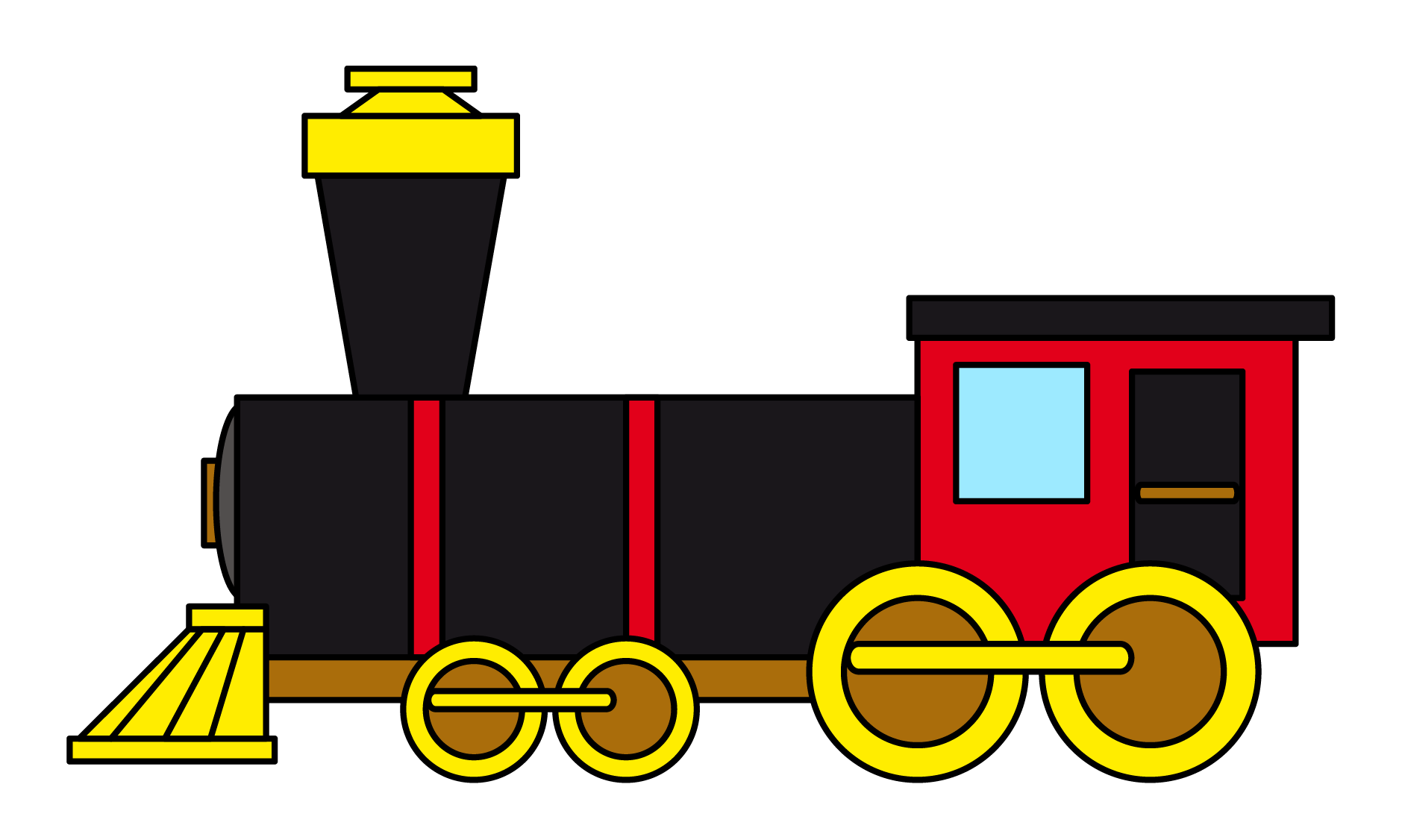 free to use public domain train clip art trains unit pinterest rh pinterest com steam engine clip art free clipart thomas the tank engine