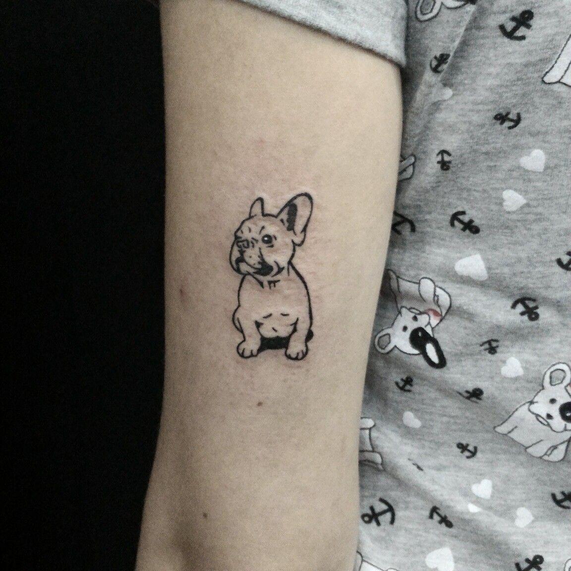 9db936e16 A Cash tattoo!! | Hairstyles | Tattoos, Bulldog tattoo, Pug tattoo