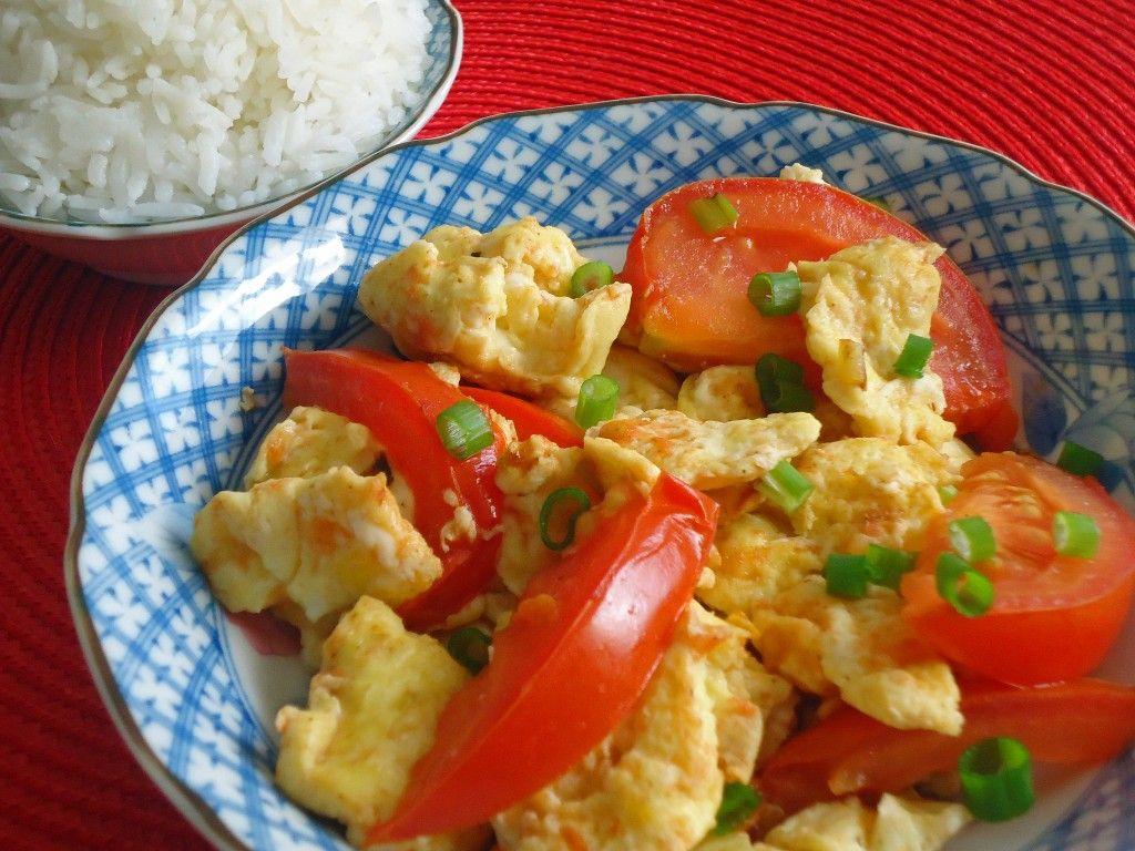 Xihongshi Chao Jidan (Chinese Stir fried Tomato and Eggs)