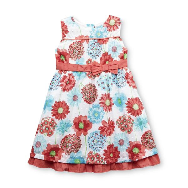 Sears Baby Clothes Penny M Infant & Toddler Girl's Sleeveless Dress  Floral  Sears