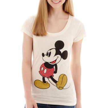 Short-Sleeve Mickey T-Shirt  found at @JCPenney