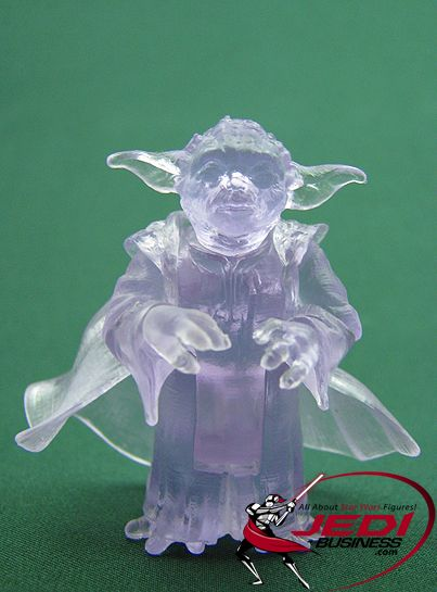 Star Wars Action Figure Yoda Holographic Transmission Star Wars Revenge Of The Sith Collect With Images Star Wars Toys Star Wars Action Figures Action Figures