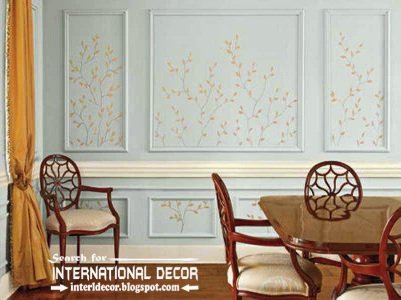 Great Moulding Designs For Walls Wall Decorating Ideas Molding .