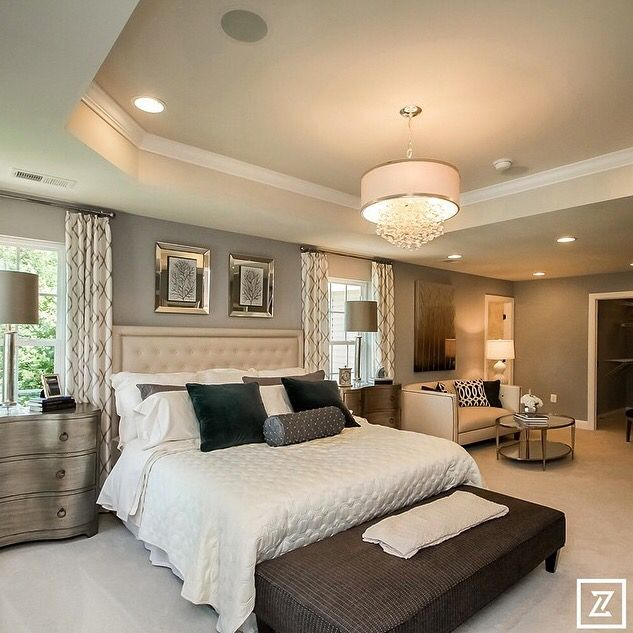 Large Master Bedroom Layout Ideas