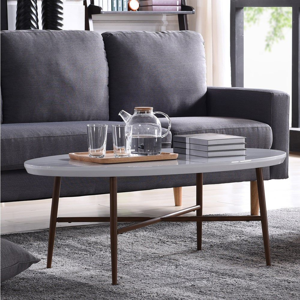 Overstock Com Online Shopping Bedding Furniture Electronics Jewelry Clothing More Coffee Table Handy Living Oval Coffee Tables [ 1000 x 1000 Pixel ]