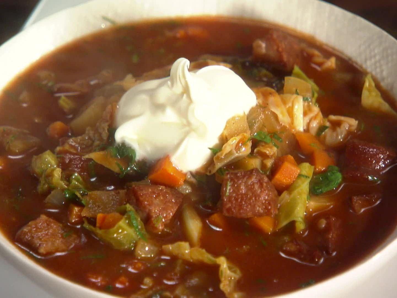 Kielbasa potato and cabbage soup receta forumfinder Choice Image