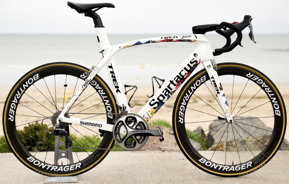 Fabian Cancellara S Sweet Tour De France Trek Madone Spartacus
