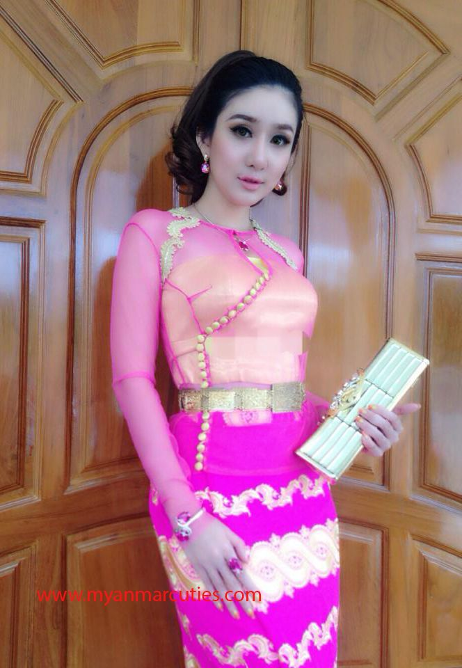 Myanmar Dress Design