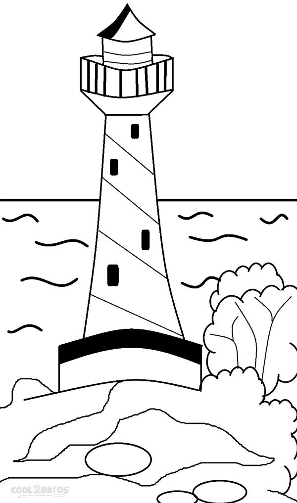 Printable Lighthouse Coloring Pages For Kids Cool2bkids Coloring Pages Coloring Pages For Kids Lighthouse Print