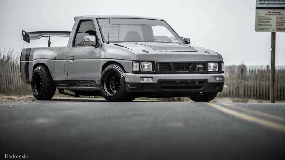 Nissan D21 Lowered Stance Minitruck Hardbody Drift Truck Trucks