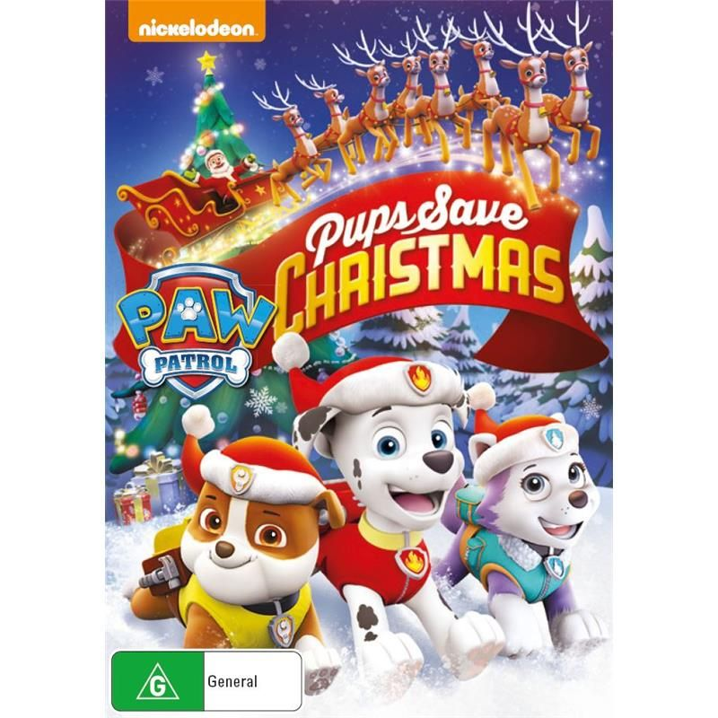 Paw Patrol Pups Save Christmas Dvd Jb Hi Fi Christmas Episodes Paw Patrol Save The Penguin
