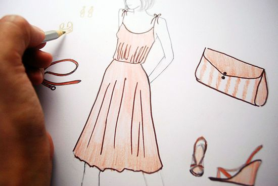 Design Clothes Fashion Design Fashion Design Drawings Fashion Sketches