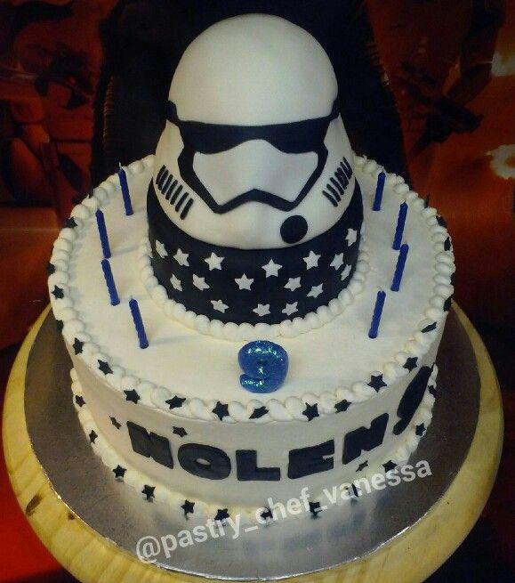 My Work Starwars Force Awakens First Order Stormtrooper Birthday