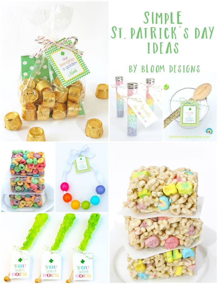 St. Patricks Day Ideas and Printables