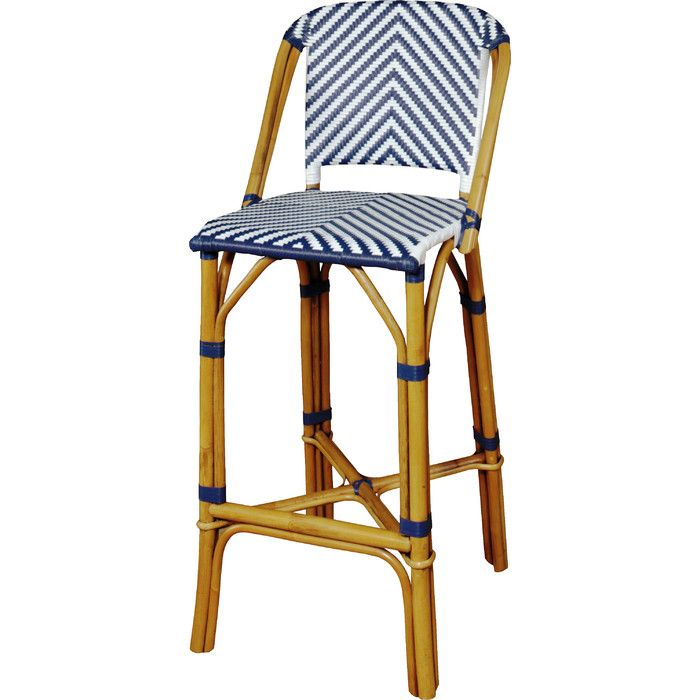 Brianne Rattan Barstool & Reviews | Joss & Main | Patio furniture ...