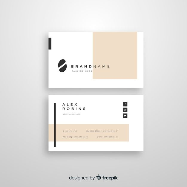 Business Card Template Graphic Design Business Card Business Card Design Creative Modern Business Cards