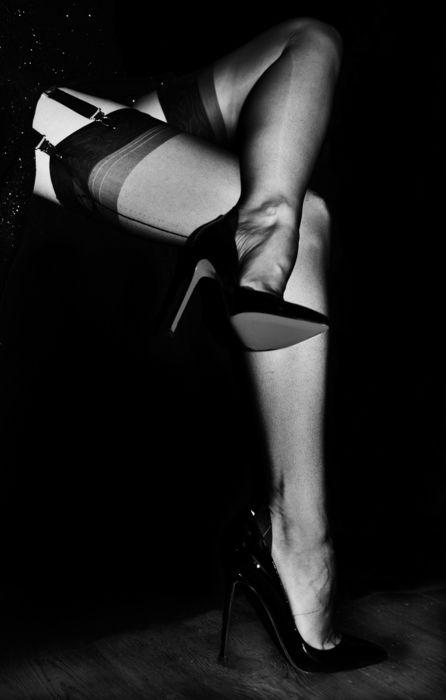 High Heels Stockings Hd