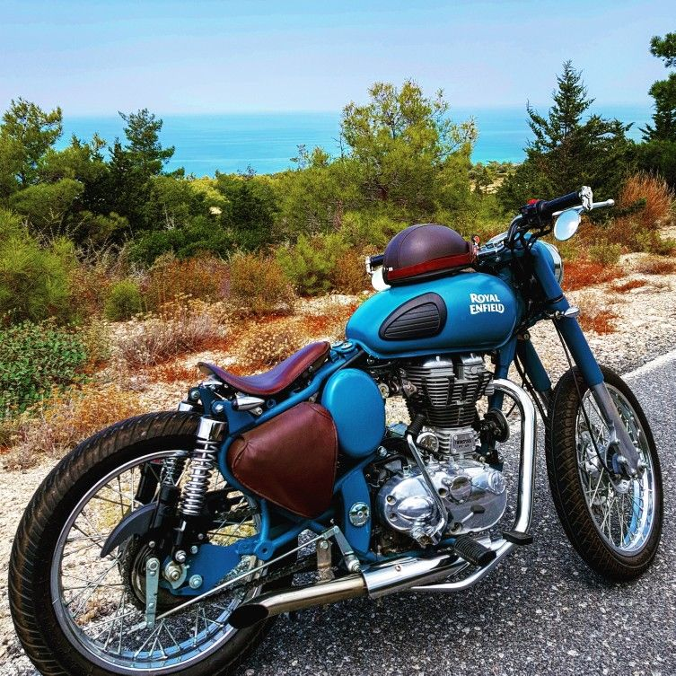 Photo of Royal enfield bobber